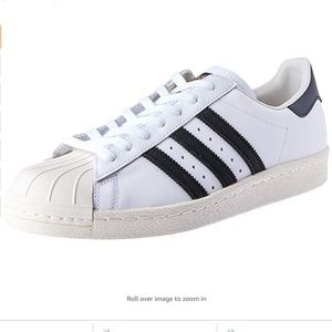 NWT Adidas Superstar 80s Shell Toe Sneakers Sz 9